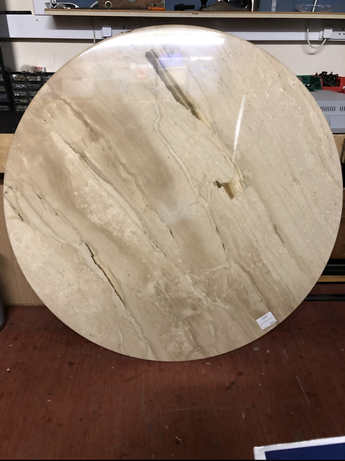 Marble Table with Marble Plinth