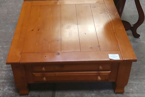 Large Coffee Table with 2 Drawers