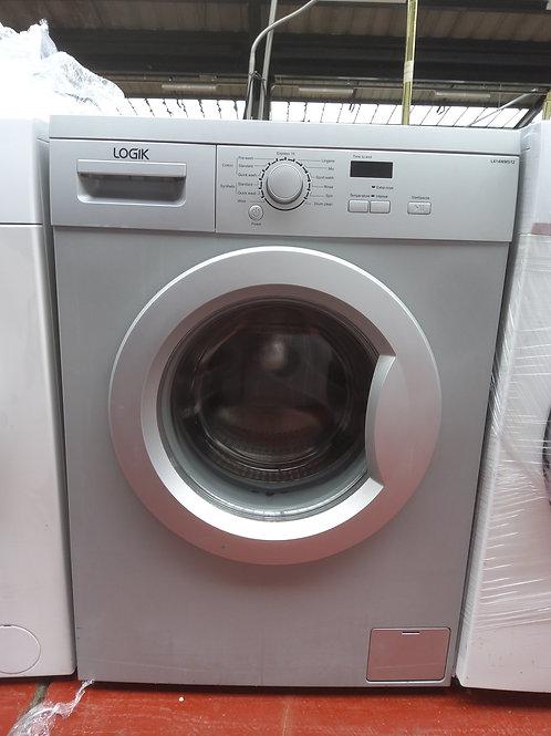Logik Washing Machine 8kg 1400rpm (Silver)