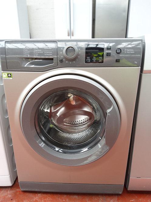 Hotpoint Washing Machine 7kg 1400rpm (Graphite)