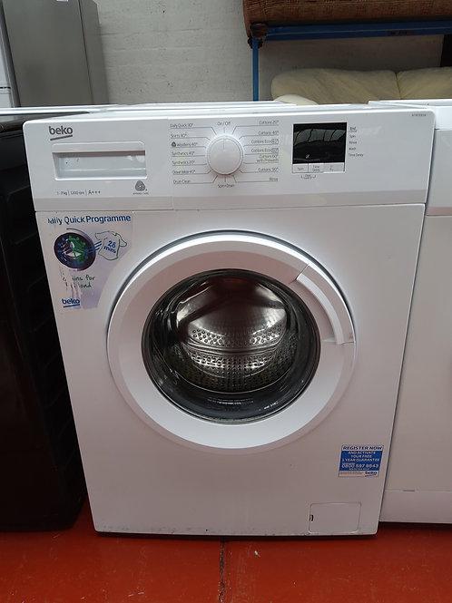Beko Washing Machine 7kg 1200rpm (White)