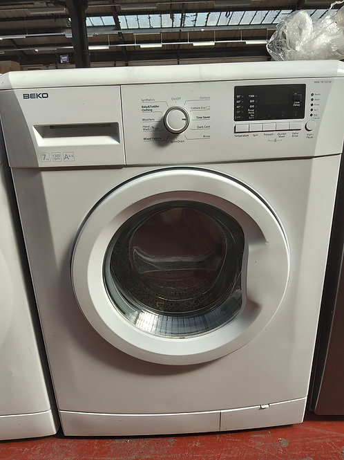 Beko Washing Machine 7kg 1300rpm