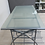 Thumbnail: Large Glass and Metal Desk