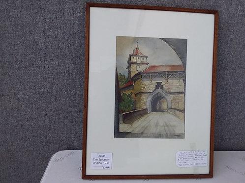 Painting- The Spitaltor Original 1943