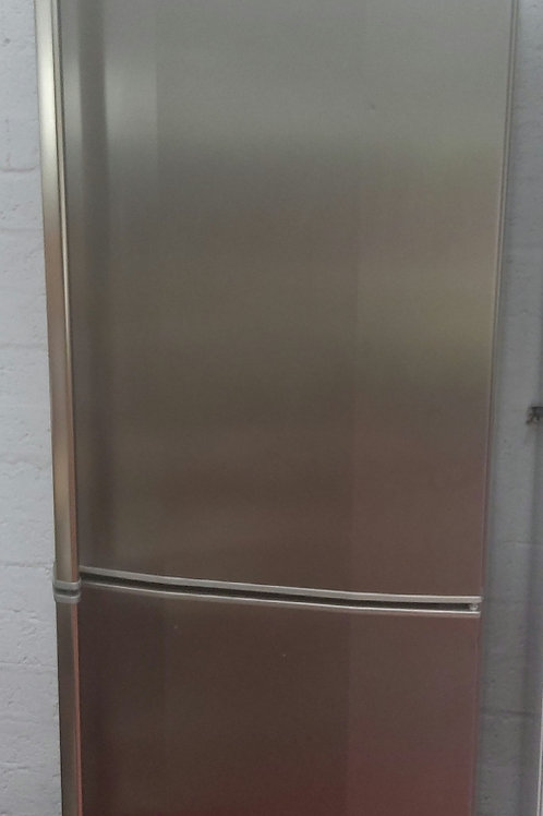 AEG Fridge-Freezer (Silver)