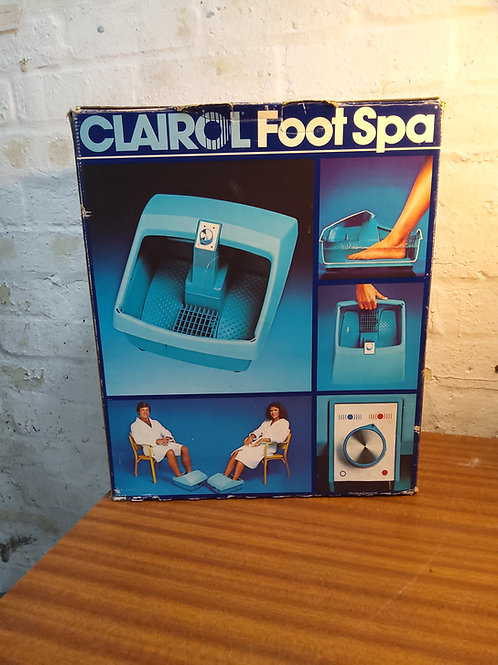 Claire foot spa