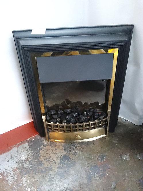 Coal effect fire