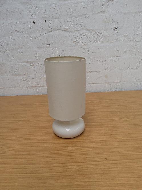 Cream base lamp