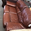 Thumbnail: 3 Seater Brown Leather Sofa