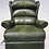Thumbnail: Green Leather Electric Chair