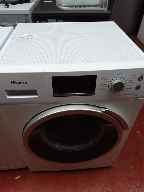 Hisense Washing Machine 8kg 1400rpm (White)