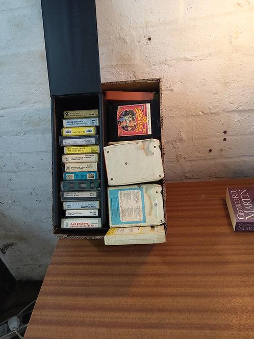 8 track cassettes
