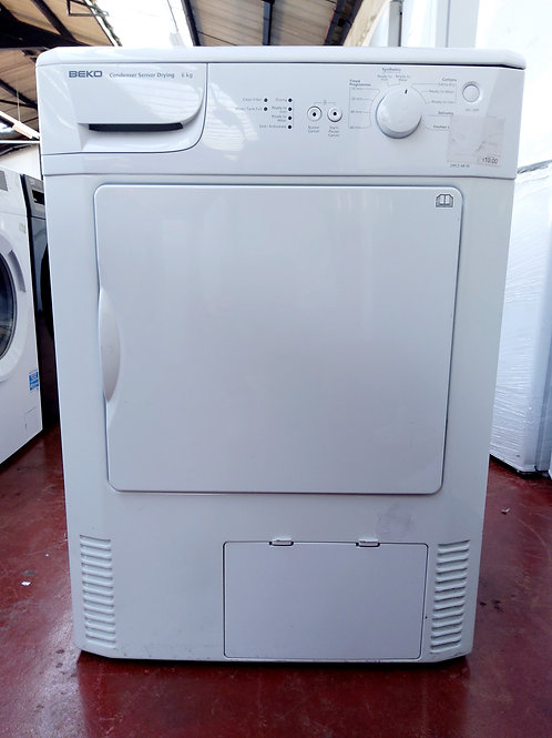 White Beko Condenser Dryer