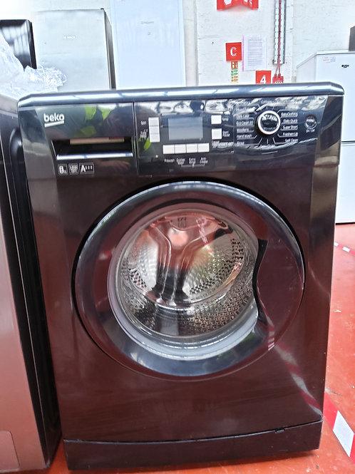 Beko Washing Machine 8kg 1200rpm (Black)