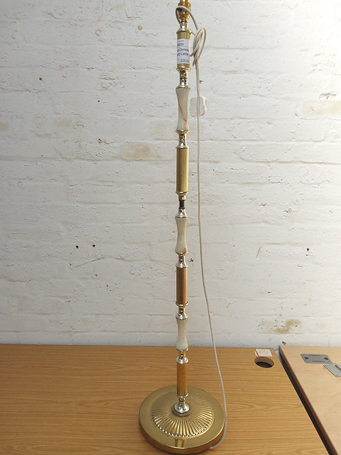 Gild and ormolu standard lamp