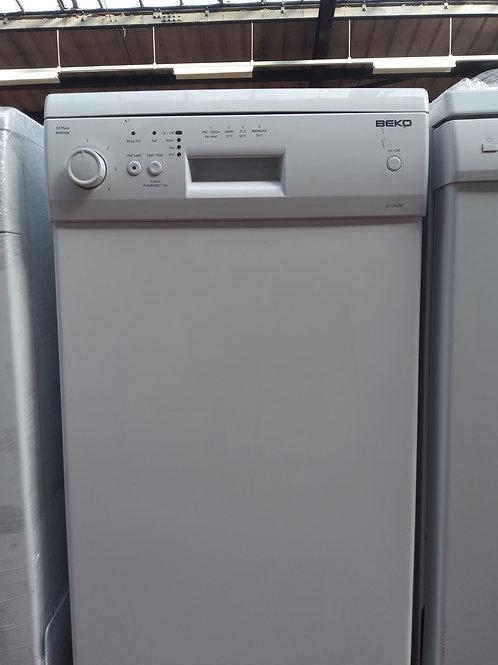 Beko Dishwasher DL1043W Slimline (White)