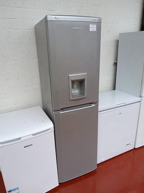 Beko Fridge Freezer (Silver)