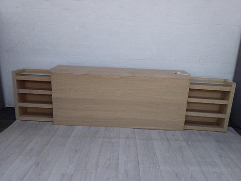 Headboard With Hidden Drawers