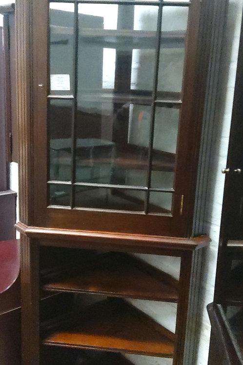 Edwardian Style Corner Cabinet
