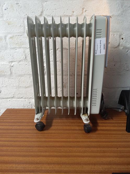 Small grey heater