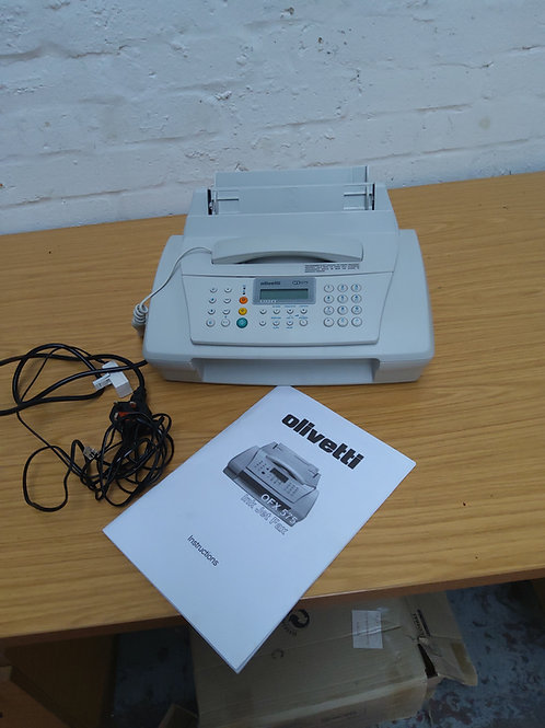 Olivetti fax machine