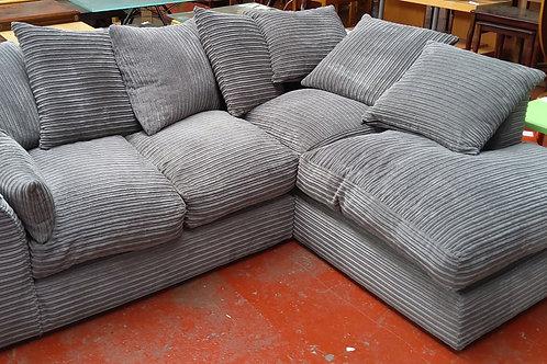 Sofa corner Grey cord