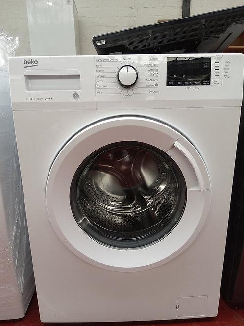 Beko Washing Machine 7kg 1400rpm (WHITE)