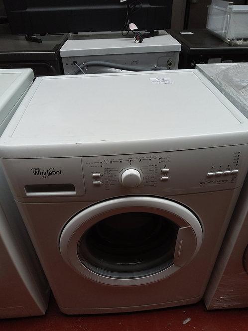 Whirlpool Washing Machine 6kg 1400rpm (White)