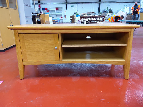 Oak Table, coffee and TV stand