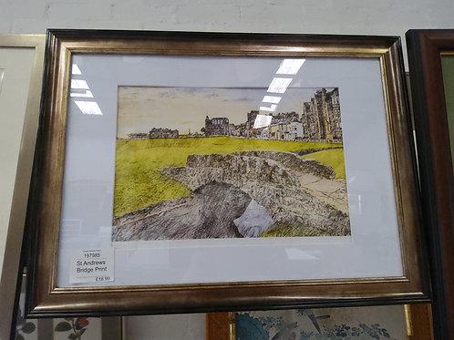St. Andrews Bridge Print