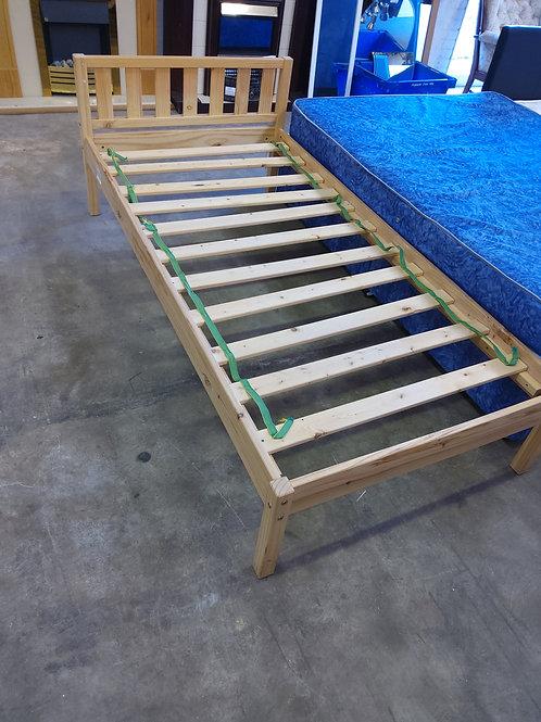 Pine Single Bed Base