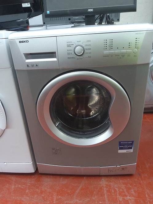 Beko Washing Machine 8kg 1200rpm (Silver)