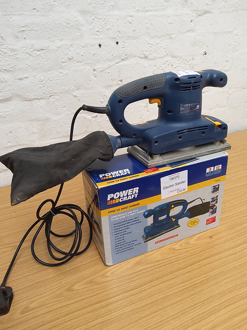 Power craft sander