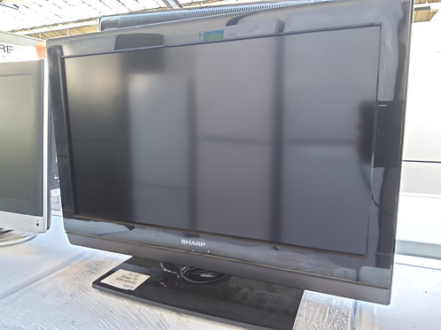 Sharp 720p HD LCD TV 26inch (Remote included)