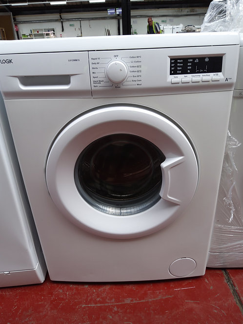Logik Washing Machine 6kg 1200rpm (White)