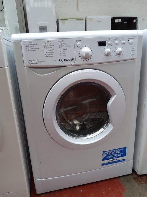 Indesit Washer Dryer 7kg/5kg 1400rpm (White)
