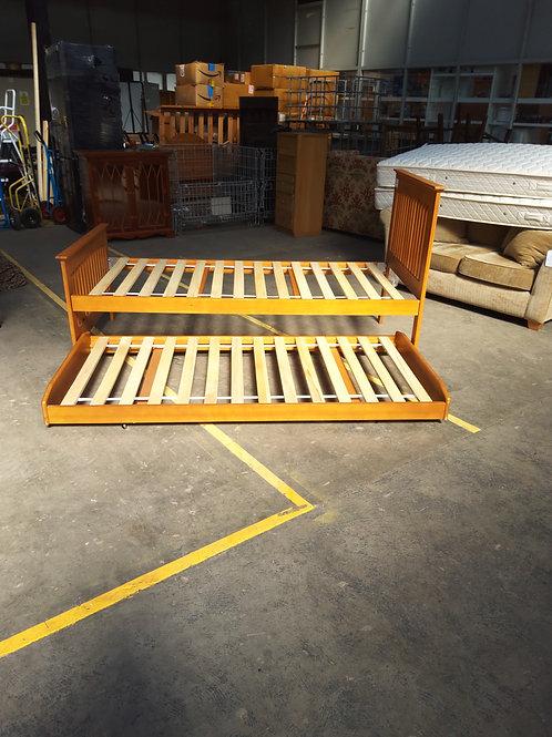 Pine Wood Bed
