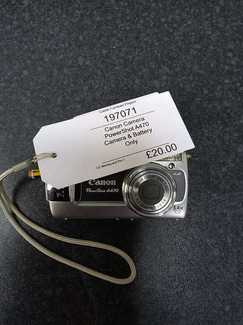 Canon Power shot A470