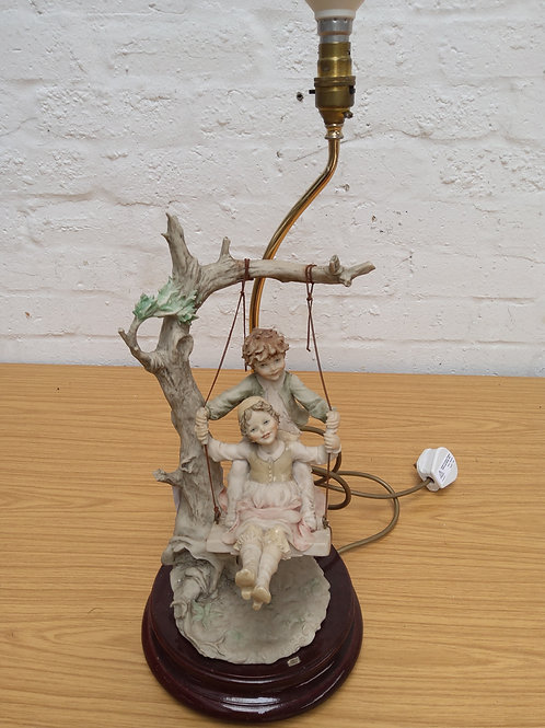 Art table lamp