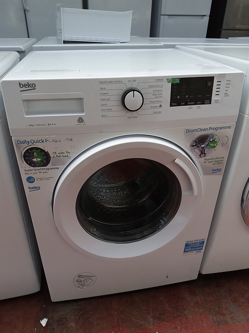 Beko Washing Machine 8kg 1400rpm (White)
