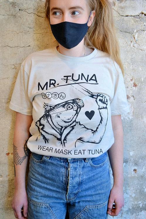 """""""Wear Mask Eat Tuna"""" Tee"""