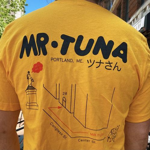 Tuna Map Tee