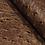 Thumbnail: Ostrich Leather Hide, Rustic Macchiato Brown Color