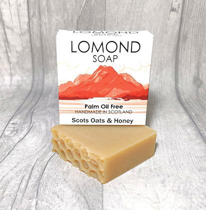 Handmade & Palm Oil Free Scots Oats & Honey Soap