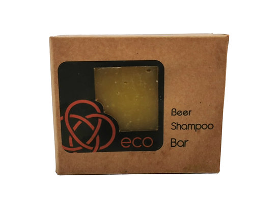 Organic Scottish Beer Soap Bar Handmade in the Scottish Highlands by eco soaps