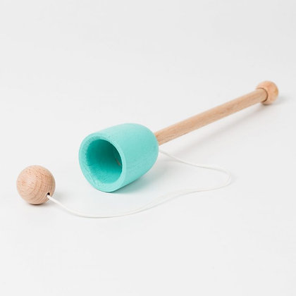 Traditional Wooden Cup and Ball Game Plastic Free Toy
