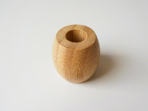 Bamboo Plastic-Free Toothbrush Holder