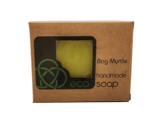 Bog Myrtle Soap Bar Handmade in the Scottish Highlands by eco soaps