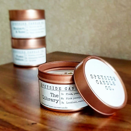 The Library Candle by the Speyside Candle Co.