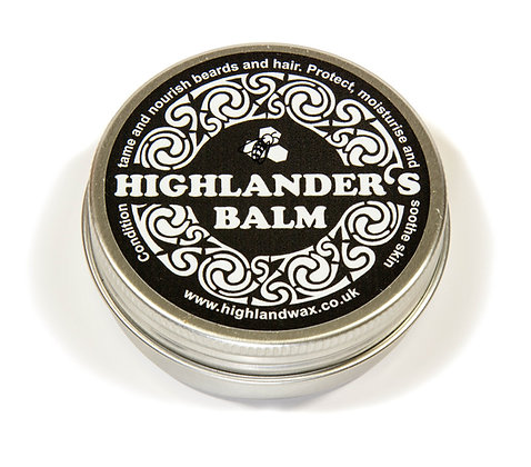Highlanders balm in aluminium tin